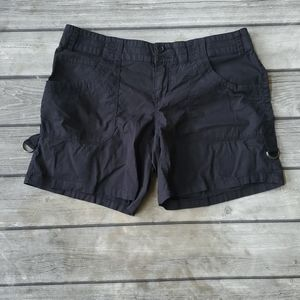 Maurices Black Chino Shorts Size 9/10